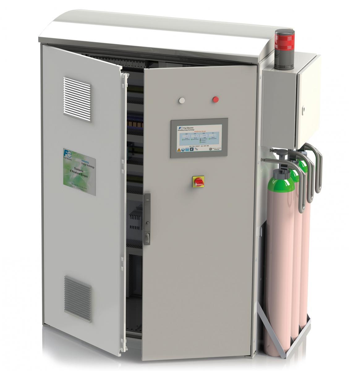 Mesure en continu du biogaz