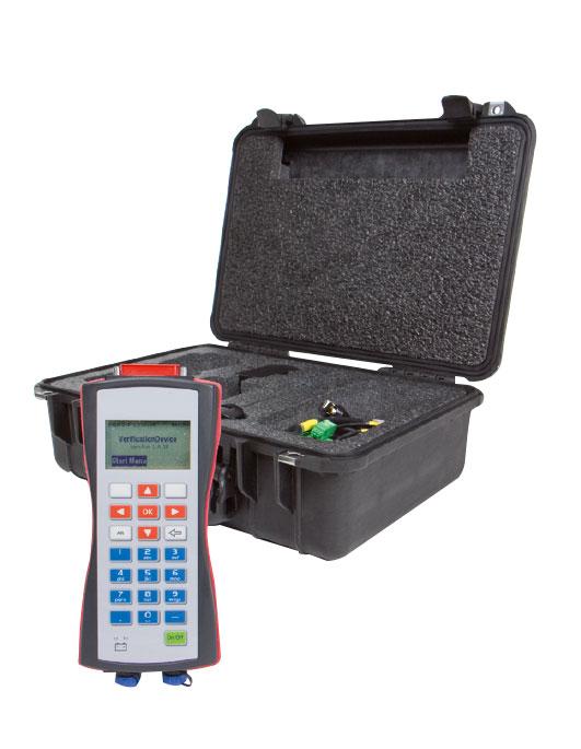 Console portable de vérification