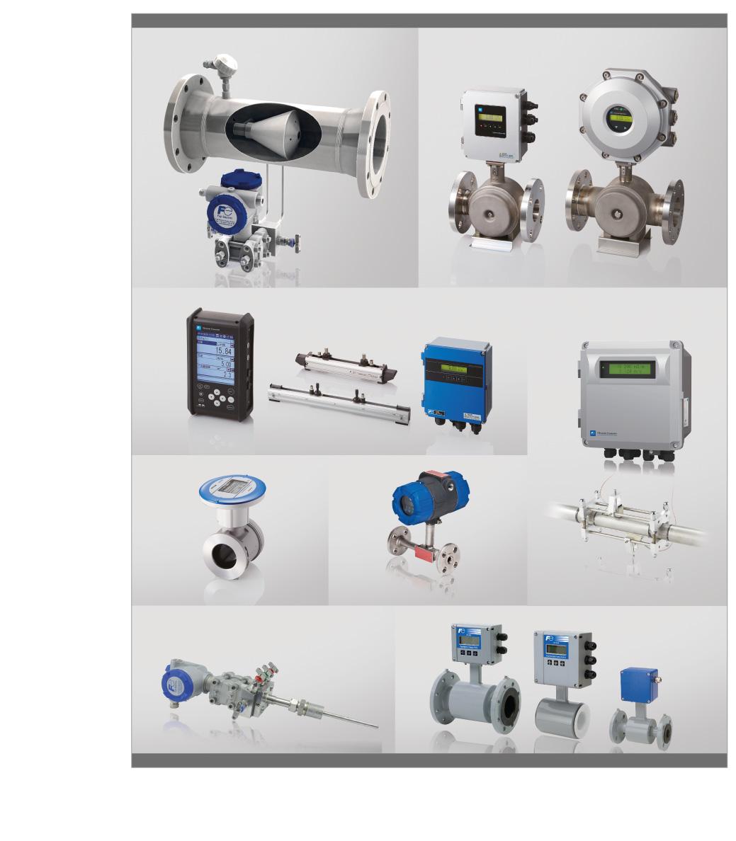 Flowmeter and fluids flow measurement