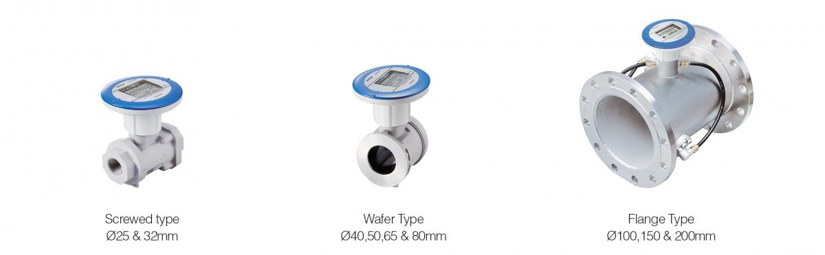 flowmeter for air screwed type wafer type flange type fwd