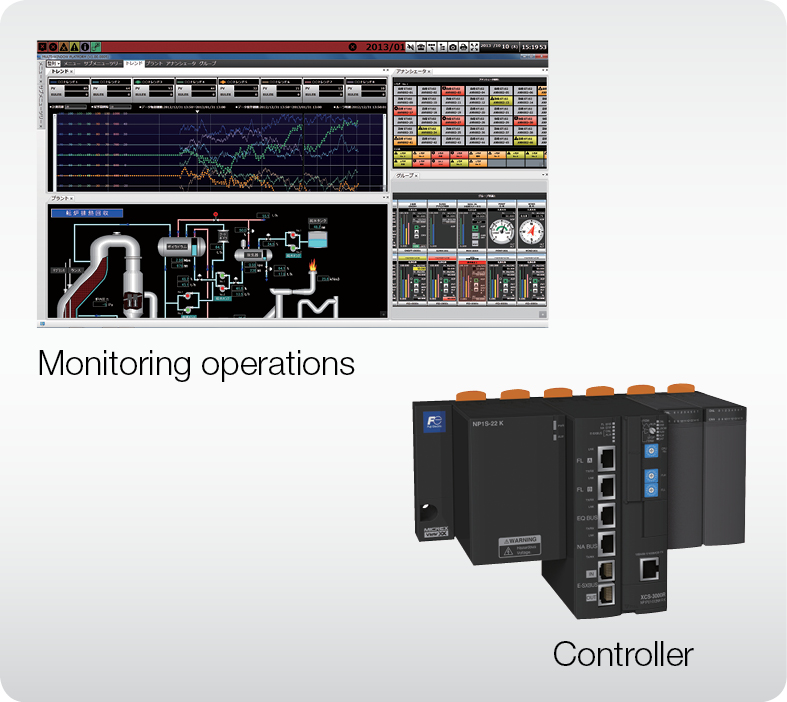 monitoring and control system fuji electric