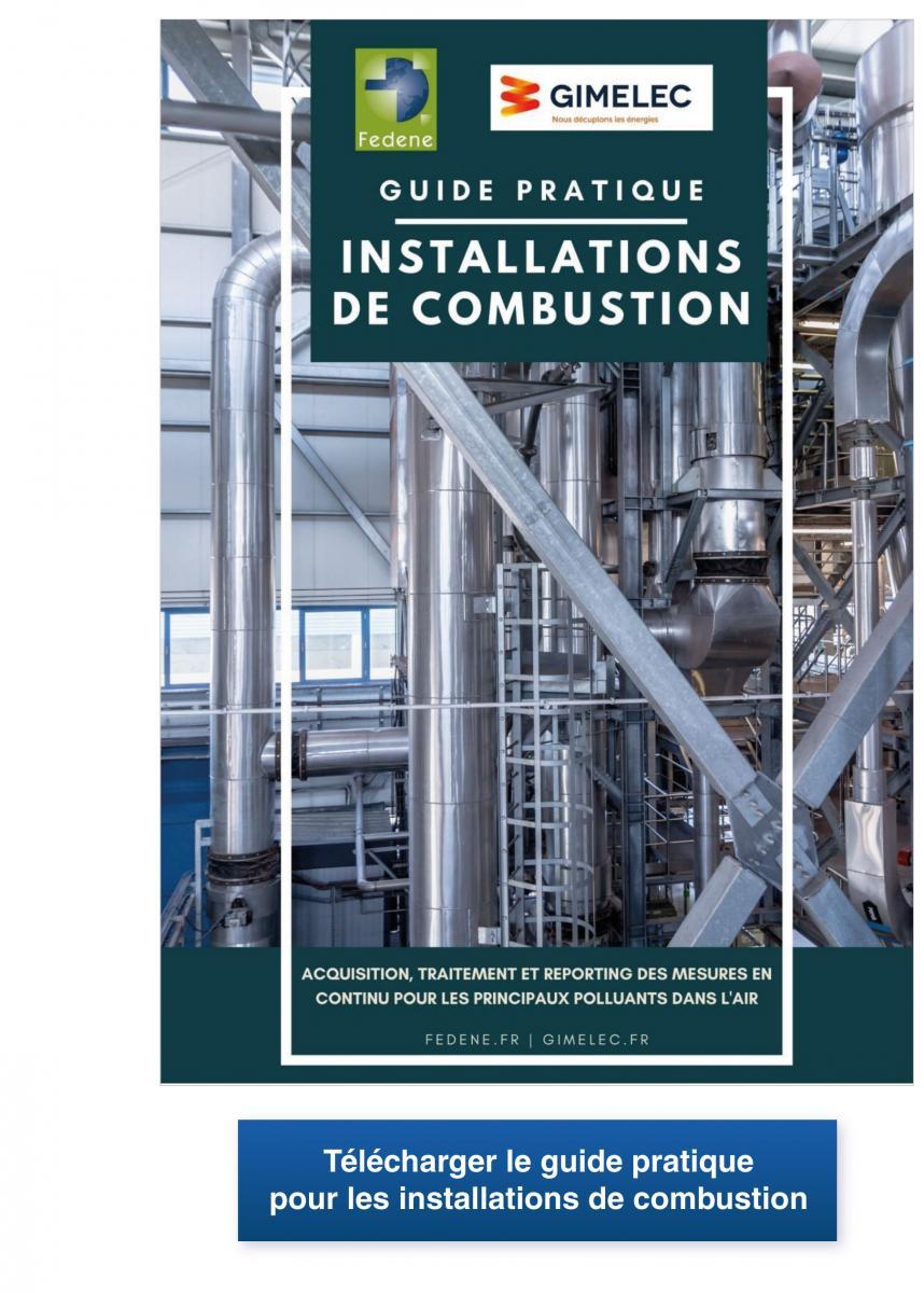 le guide pratique pour les installations de combustion redige par la FEDENE et le GIMELEC télécharger
