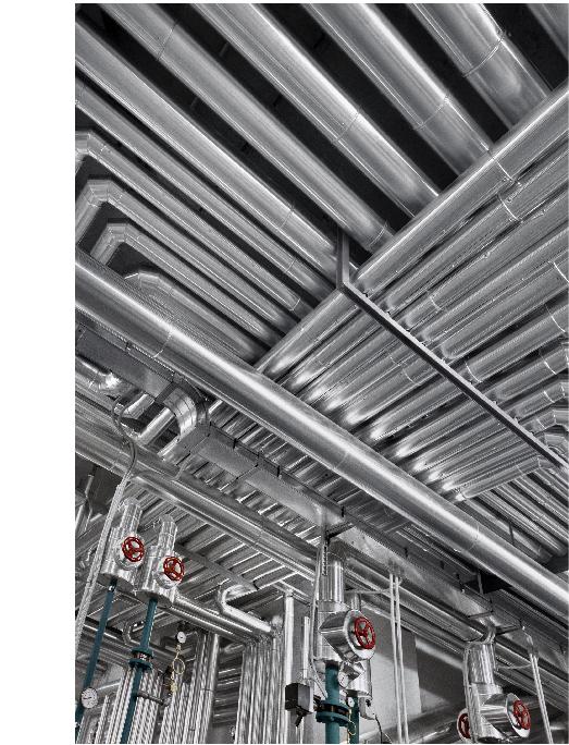 Mesure de débit par dissipation thermique pour les gaz tuyaux