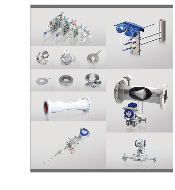 Mesure de débit par organe déprimogène pour liquide, gaz et vapeur produits fujielectric