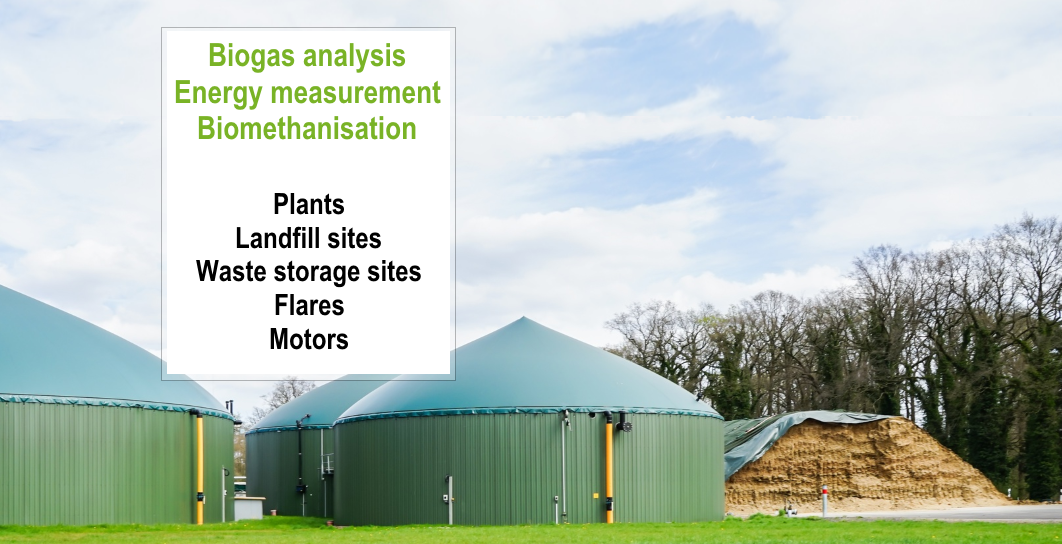 Biogas : analysis and flow measurement