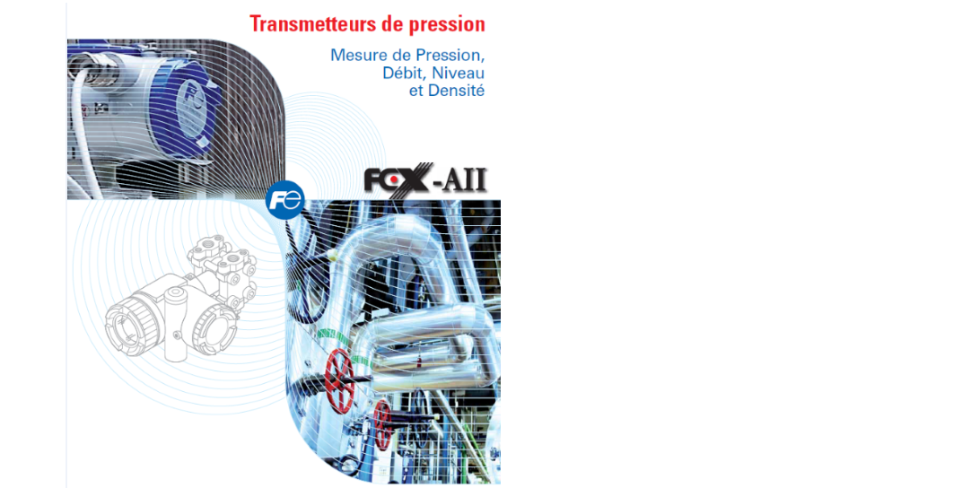 Catalogue transmetteurs de pression Fuji Electric
