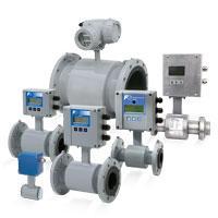 Electromagnetic flowmeter for liquids